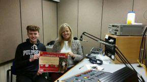 Radio Ulster visit Imbolc