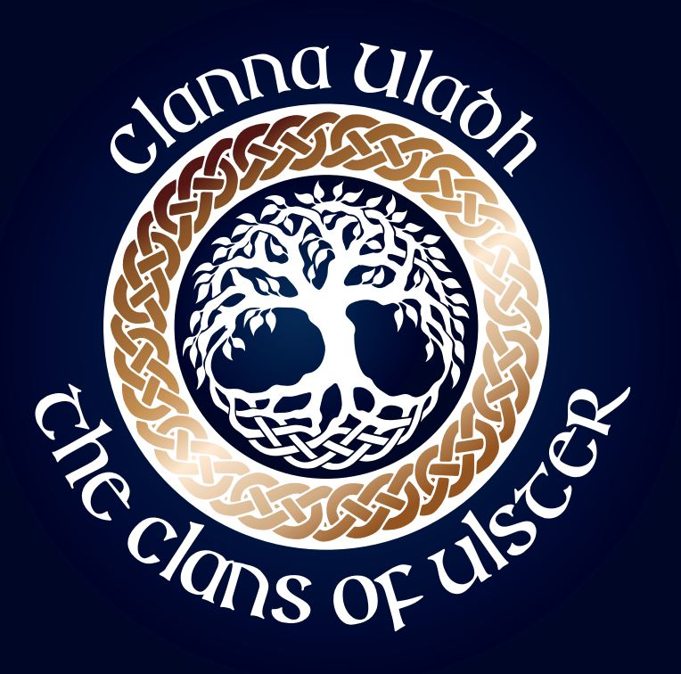 The Clans of Ulster logo - Clanna Uladh